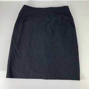 Antonio Melani Sz 10 Pencil Skirt Straight Black